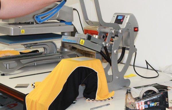 Heatpress digital transfer machine