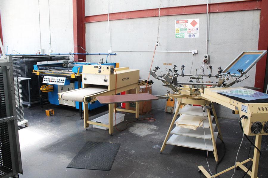 Smartprint Production - Screen Printing