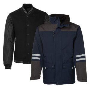 Jacket - Embroidered, Screenprint, Dye Sub and Heatpress