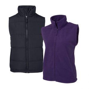 Vest - Embroidered, Screenprint, Dye Sub and Heatpress
